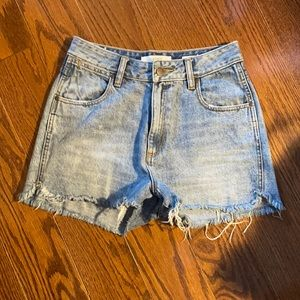 Perfect high waisted denim short